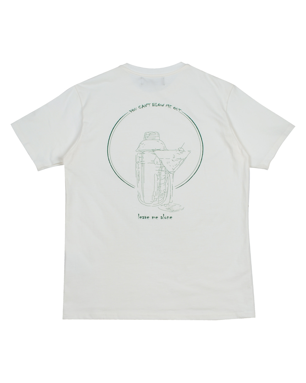 SHAKER T-SHIRT WHITEHey Martini(헤이마르티니)